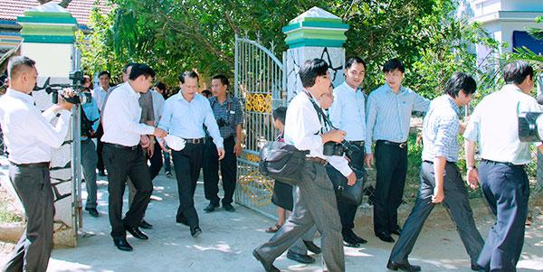 Chia tay Phó Thủ Tướng Vũ Văn Ninh